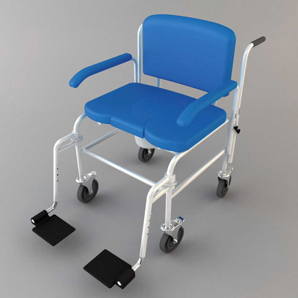 Bariatric heavy duty commode mobile parkgate mobility for Bariatric bathroom design