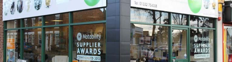 Our Mobility Shop in Derby