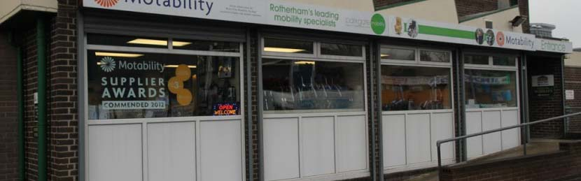 Our Mobility Shop in Rotherham
