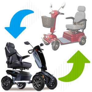trade in mobility scooter