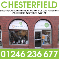 Our Mobility Shop in Chesterfield