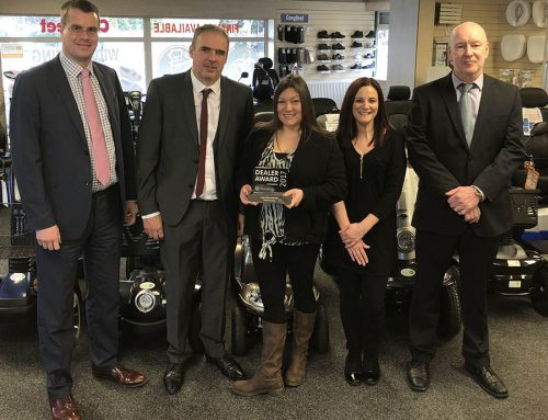 Parkgate Mobility Wins Motability Award