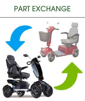 Part Exchange Mobility Scooter
